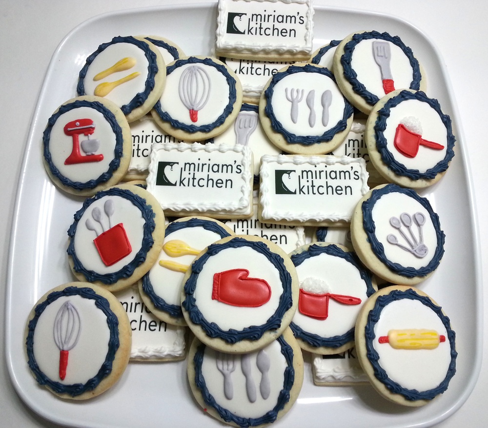 Cookies to thank the volunteers of Mariam's Kitchen in Washington, DC