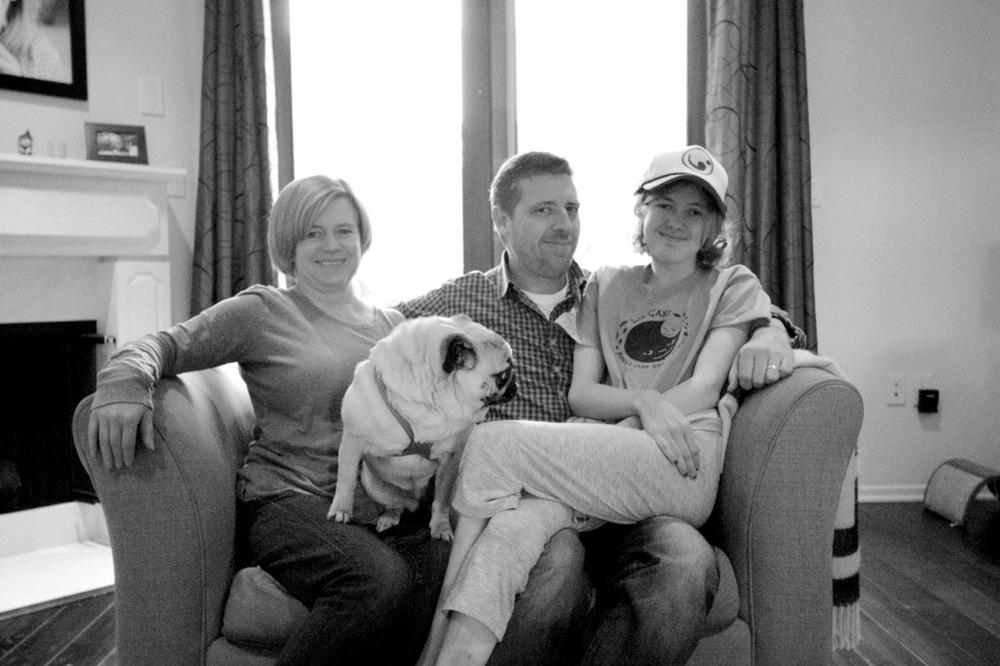 Jeanette, Gracie, Larry & Jordan
