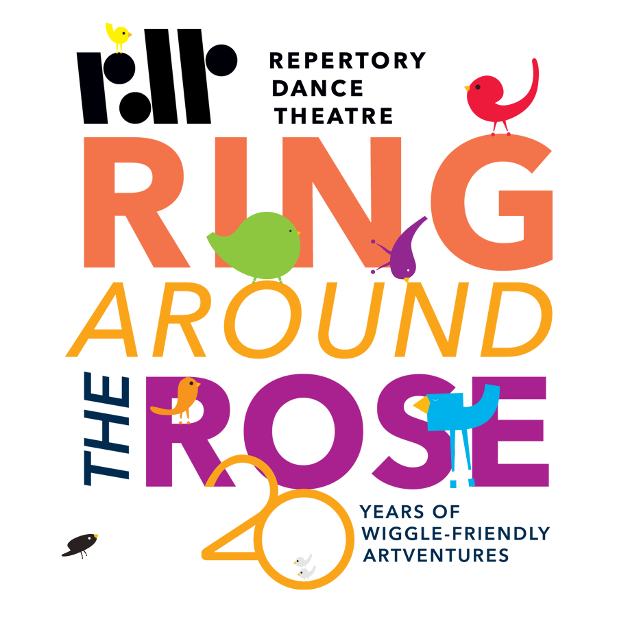 Repertory Dance Theatre, Ring Around the Rose - 12 May 2018—What is a STORY? How does it work? Where does it go when you throw it into the sky? And why, oh why, is it important to make your own? Let's find out. Together!