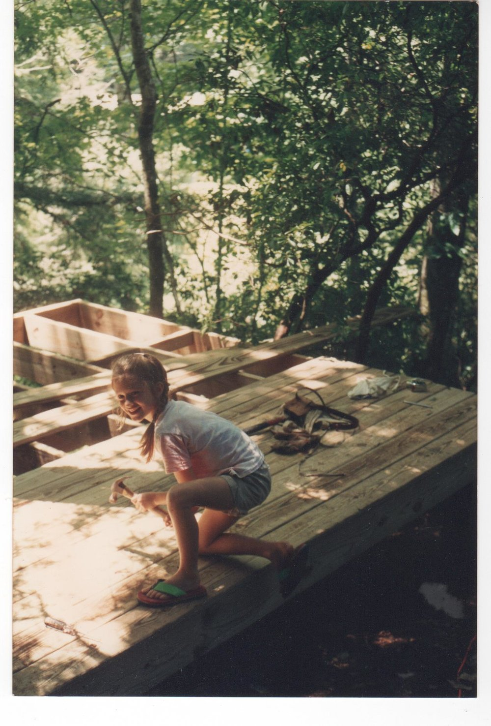 Callie the little carpenter in NC 001.jpg
