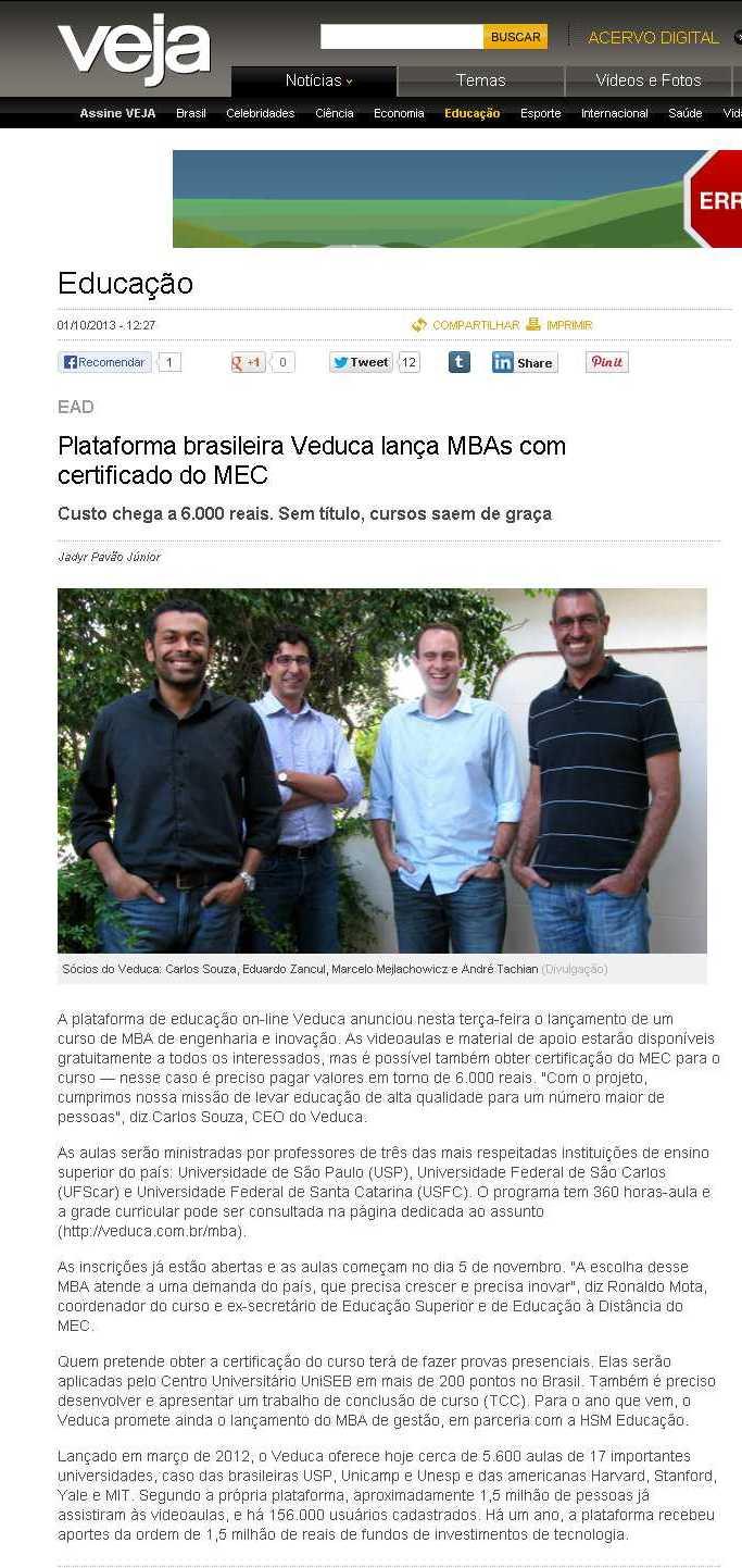 Plataforma brasileira Veduca lança MBAs com certificadodo MEC - Educação - Notícia - VEJA.com.jpeg