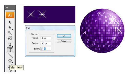 Disco Ball Tutorial step12