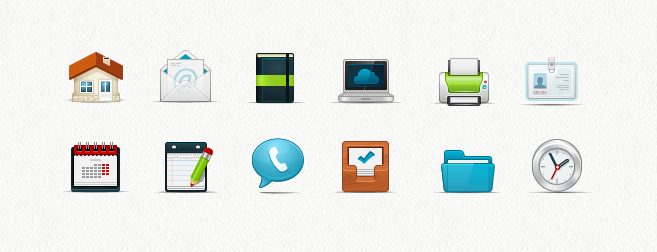 Internet & Computer Icon Set