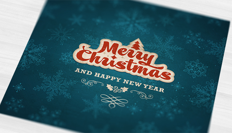 Vintage Christmas card design Available to purchase  here