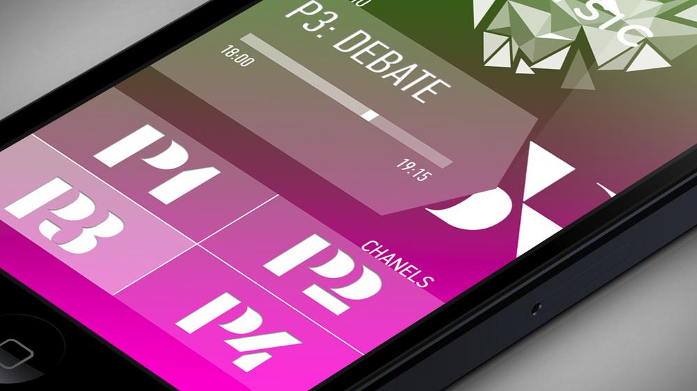 Close-up mobile UI - Screen 2 left swipe