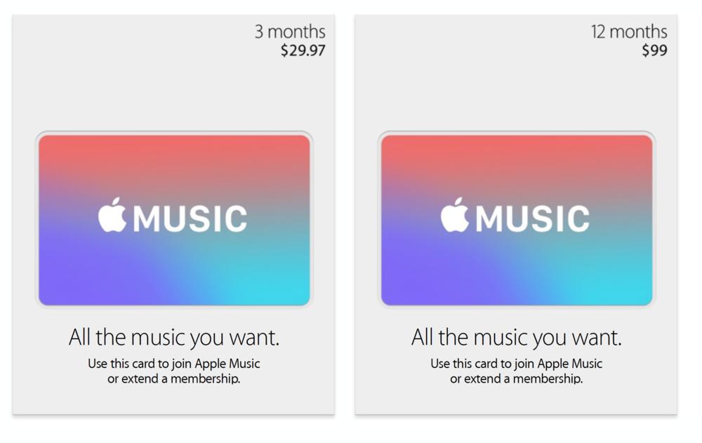 - Apple Store gift card design