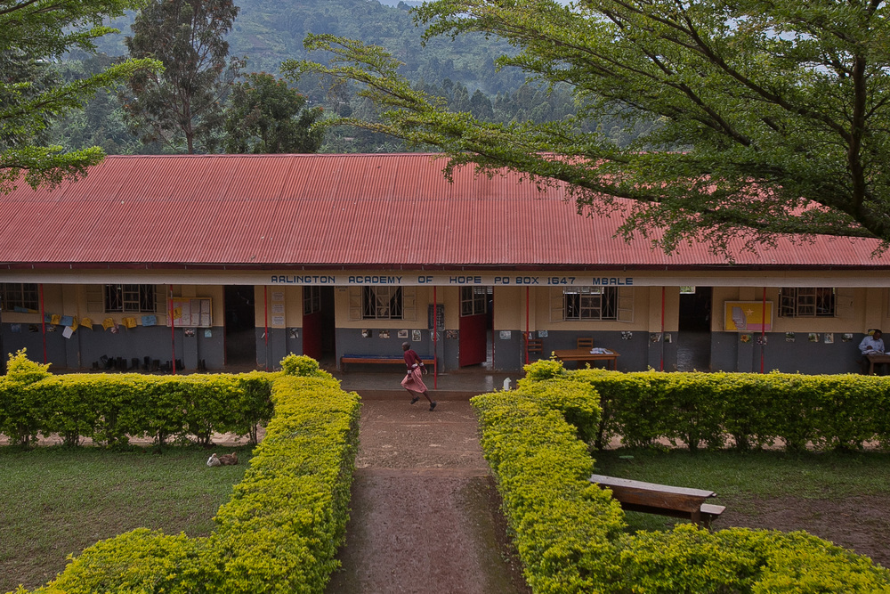 Arlington Academy of Hope, She's the First's Uganda partner school!