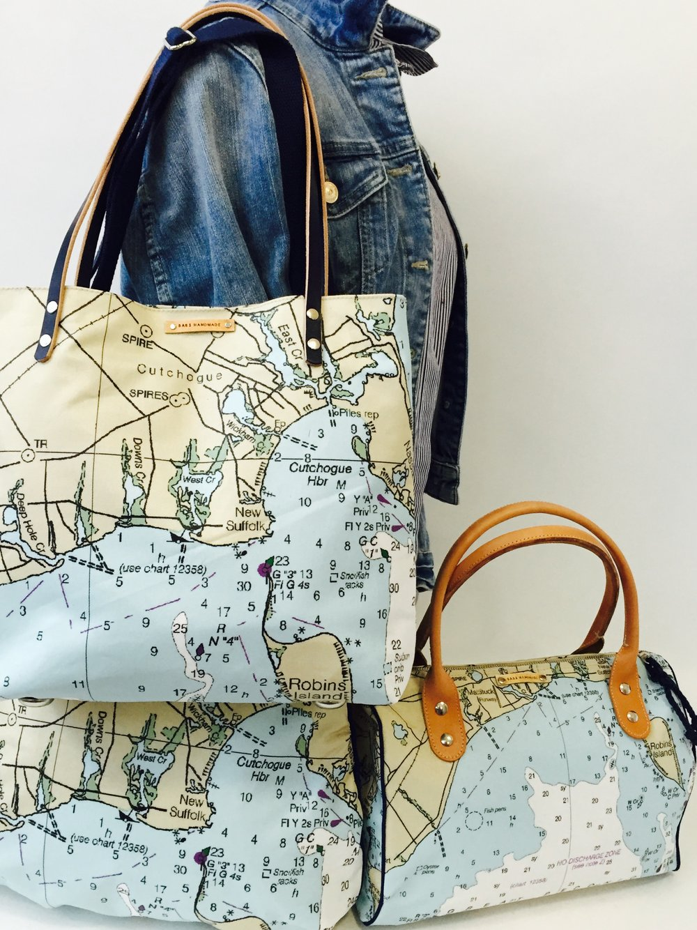 Great Peconic Bay Tote, Overnighter, Barrel