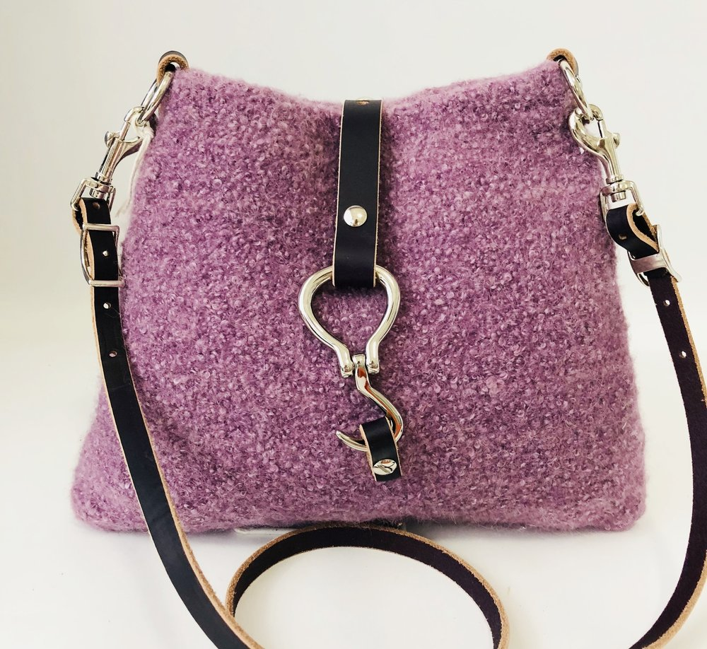 Sheeply Chic - A collection of colorful and unique felted wool bags.  Most are wool or a combination of wool, silk, mohair or alpaca.