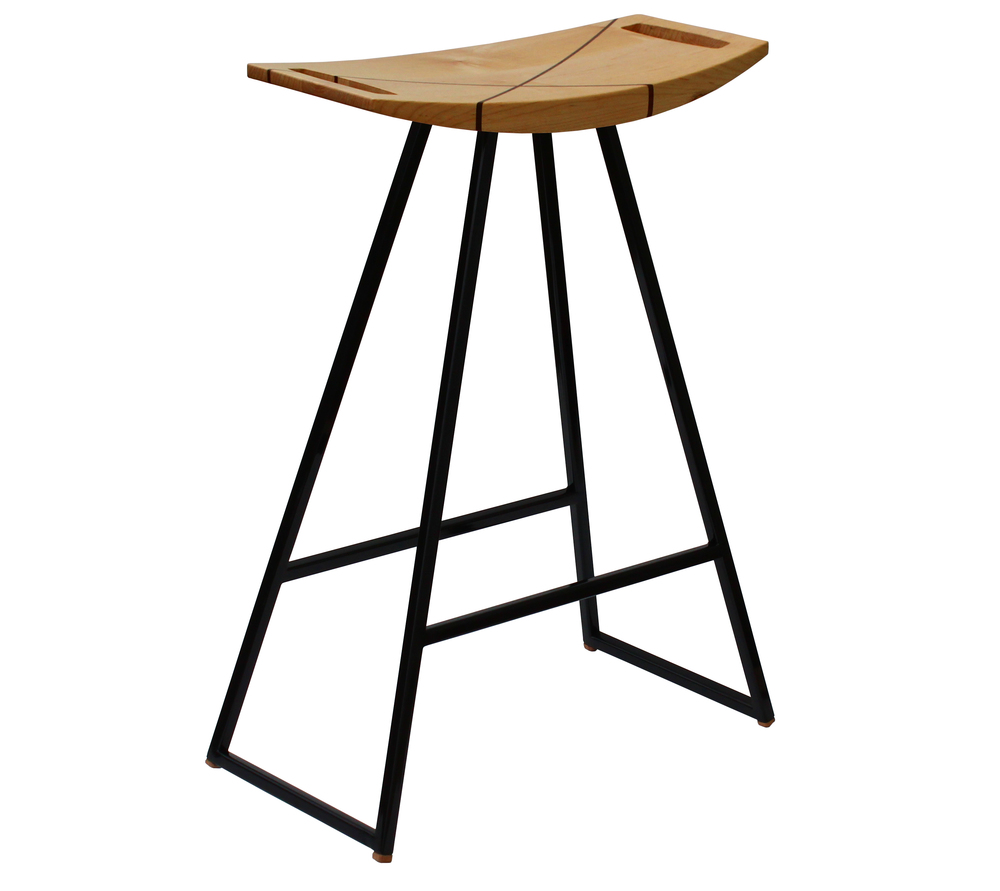 Tronk Design_Roberts Stool_Maple with Inlay  Black.jpg