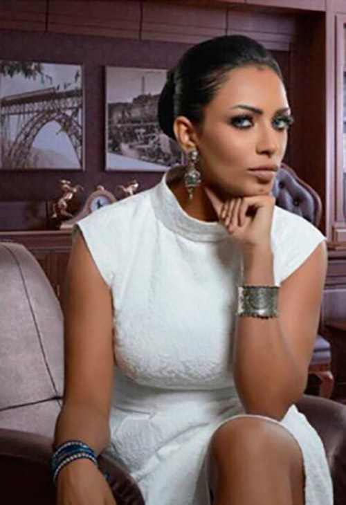 HRH Sheikha Bashayer Al Sabah, Image by Kuwait Fashion Week, (with the permission to use from Vanessa Abirached)