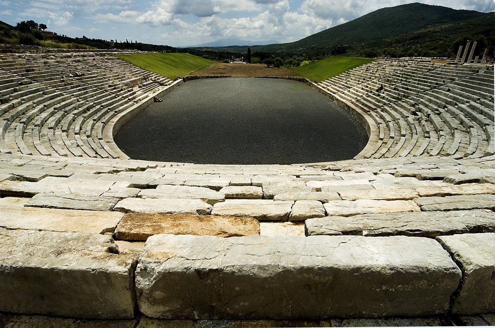 Ancient Messini Stadium.JPG