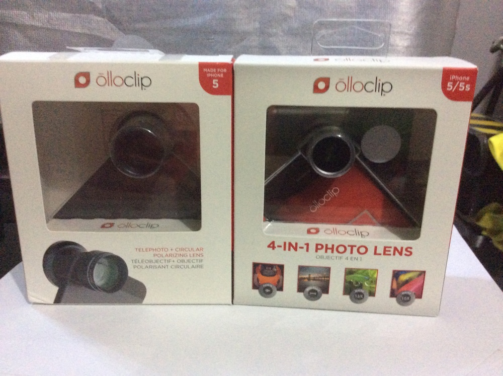 Olloclip Polarizing lens and 4 in 1