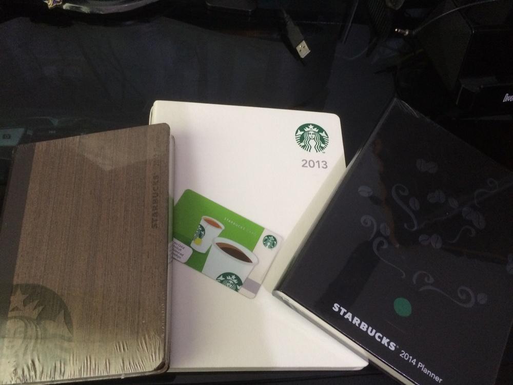 Starbucks Planners