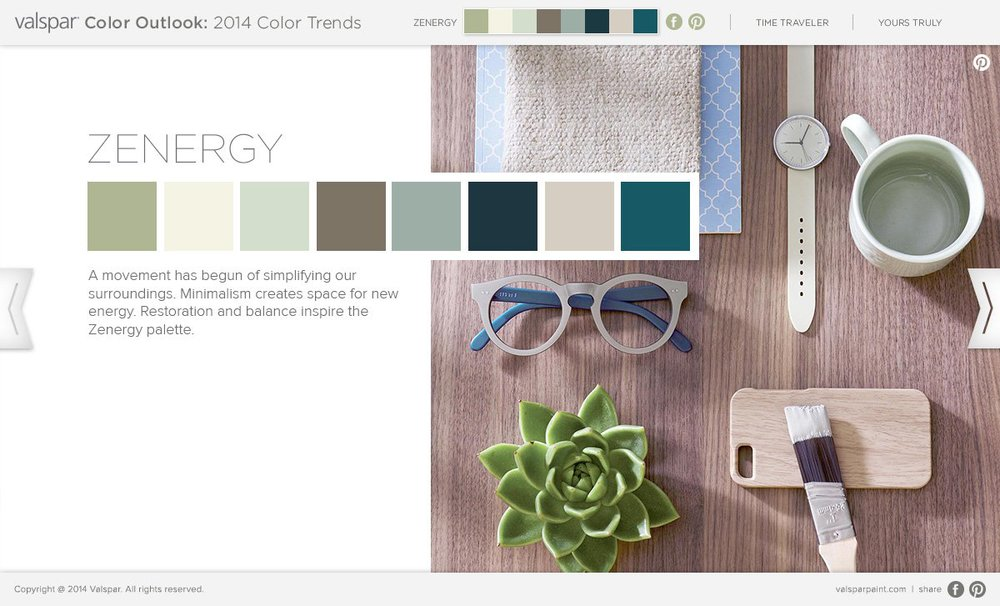 valspar color trends