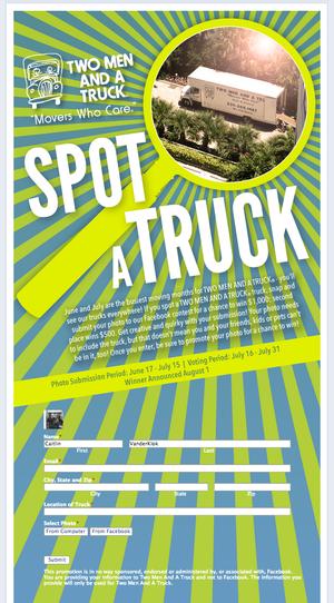 spot a truck