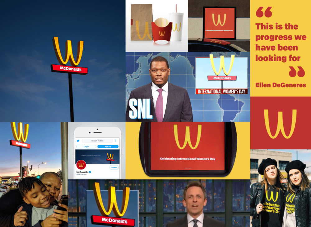 mcdonalds international womens day
