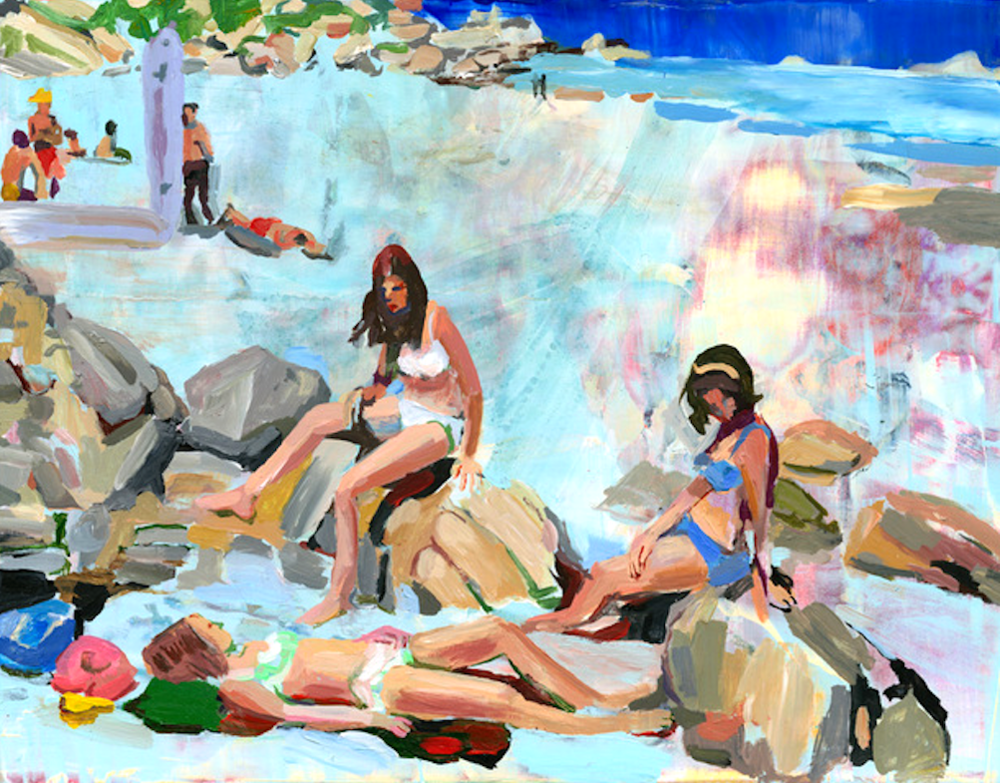 Women on Rocks, 2012