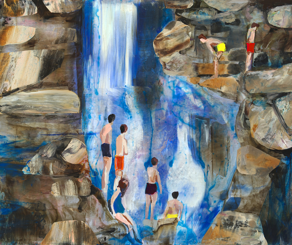 Absorbed in Cascades, 2014
