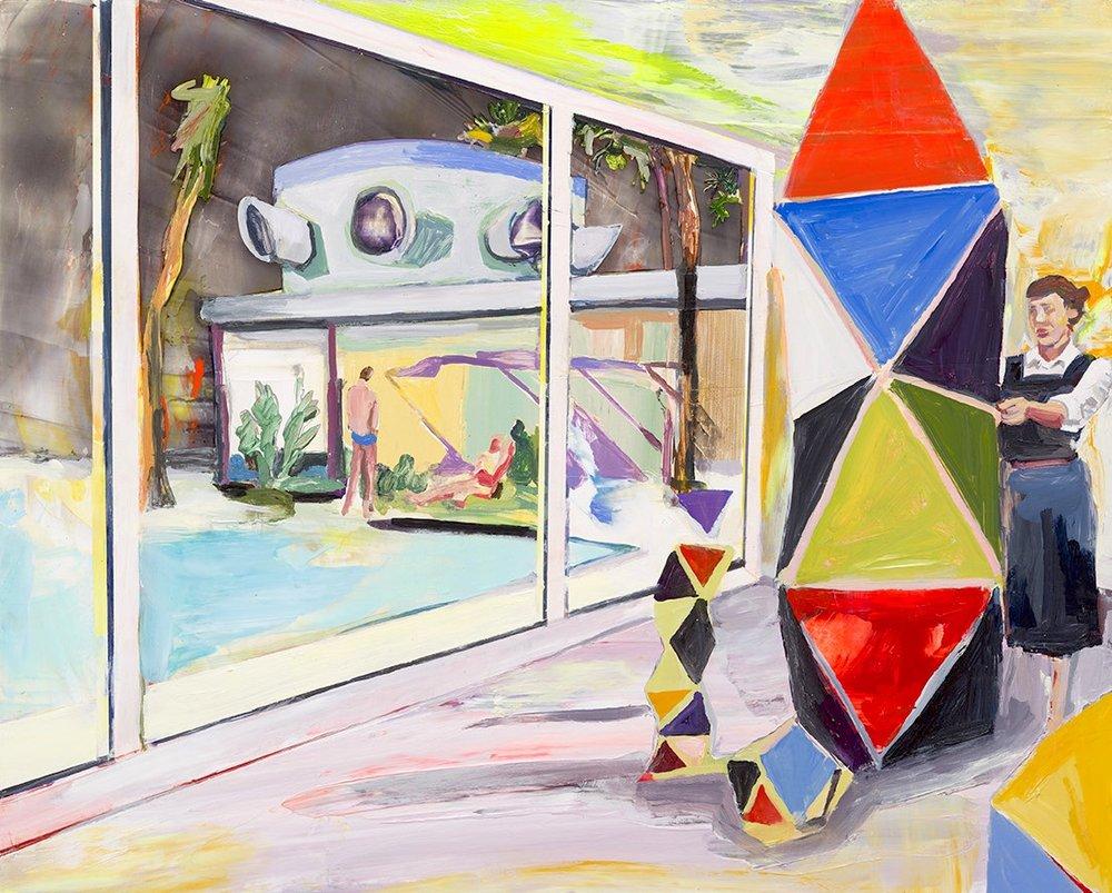 Night Studio (Ray Eames), 2016