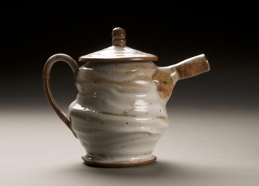 Shino Glazed Teapot