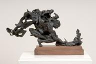 'Crouching Man', Bronze, 2009