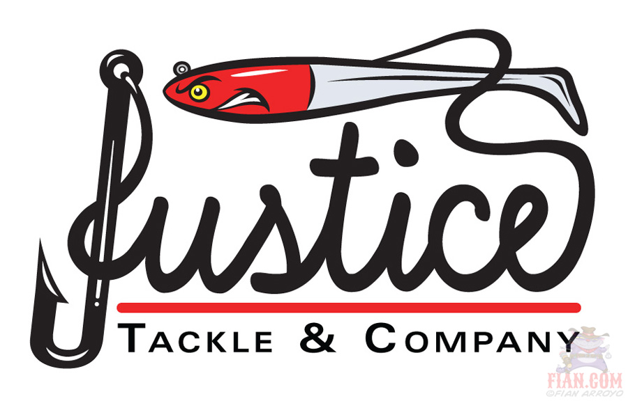 Justice Tackle Logo Art