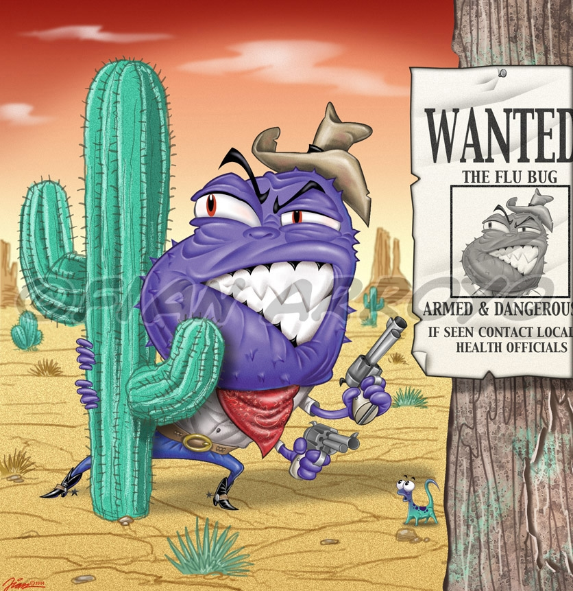 Wanted: The Flu Bug