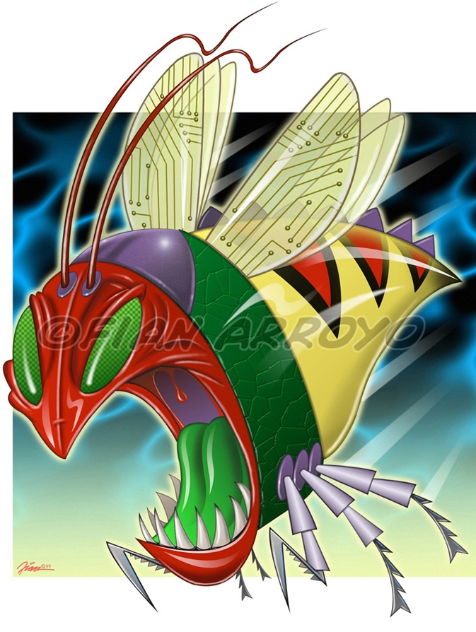 Y2K Bug Character Design