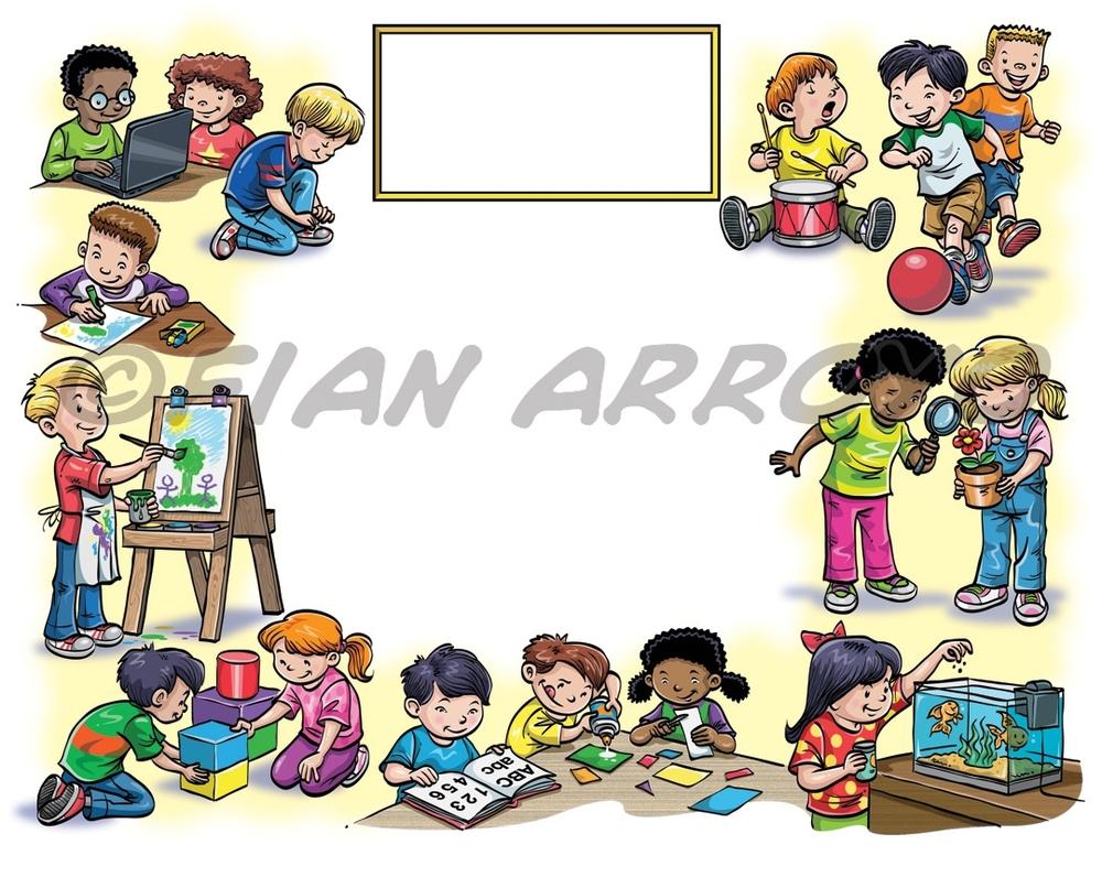 Kindergarten Diploma Art