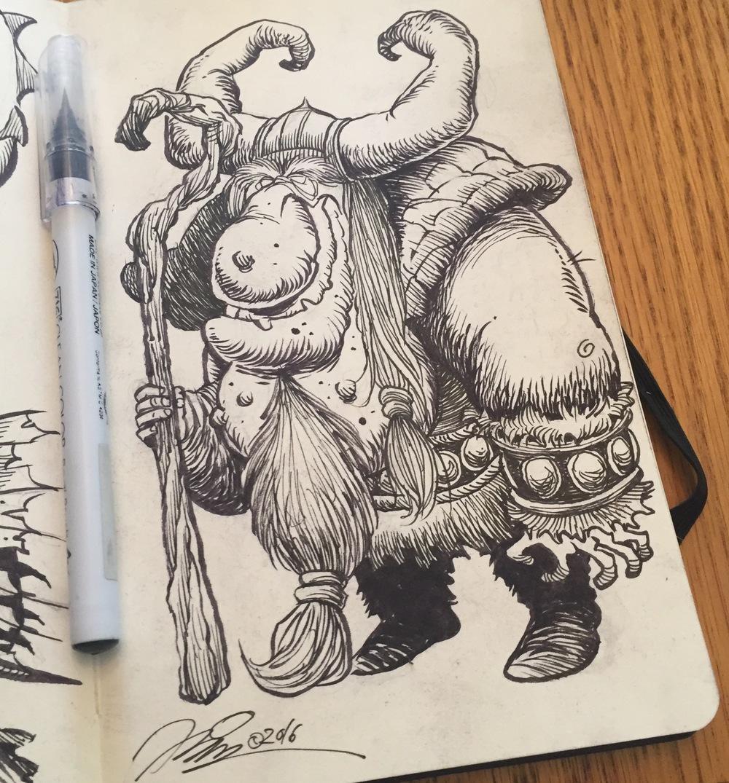 Viking Doodle