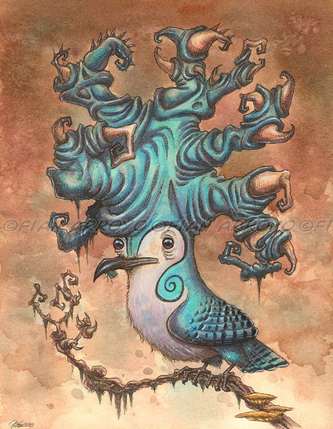 The Horned Swirl Jay