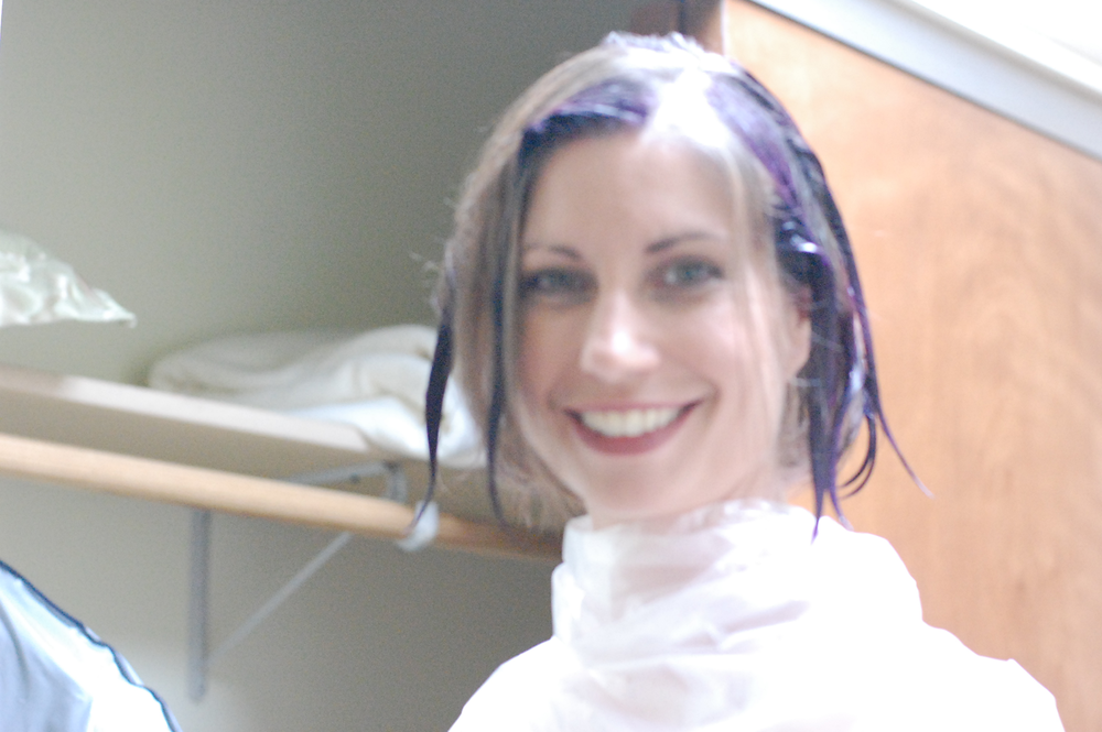 Cassandra getting a dye job