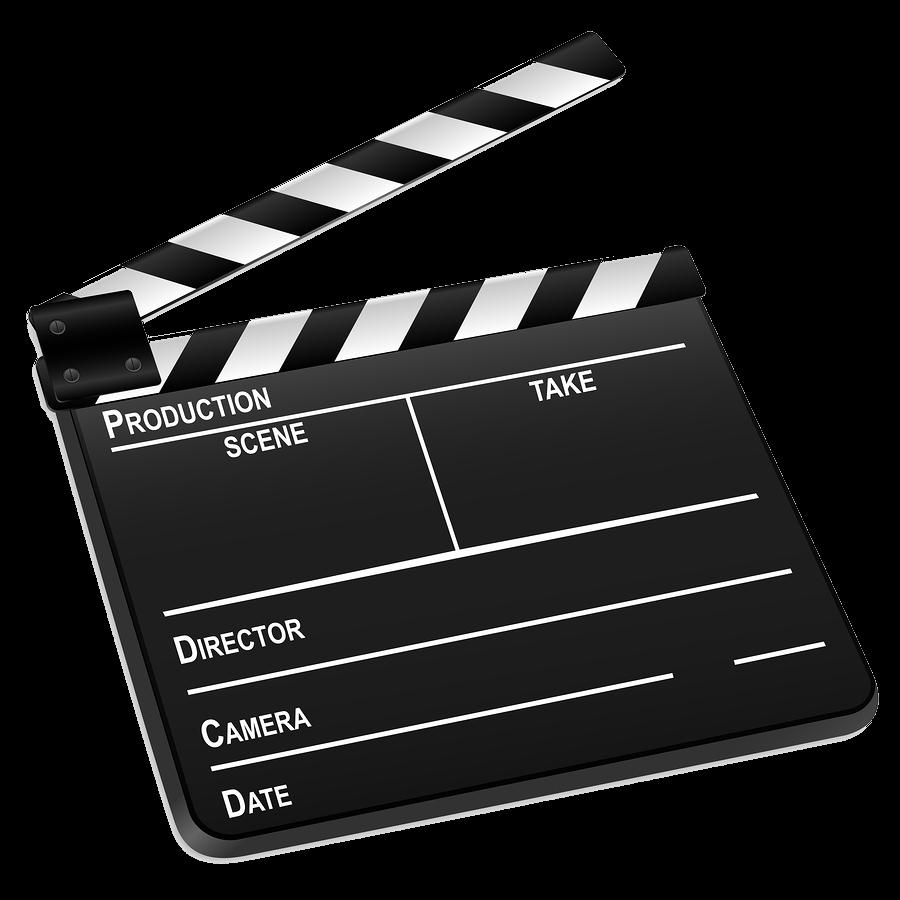 Movie film roll png bigstock d film slate