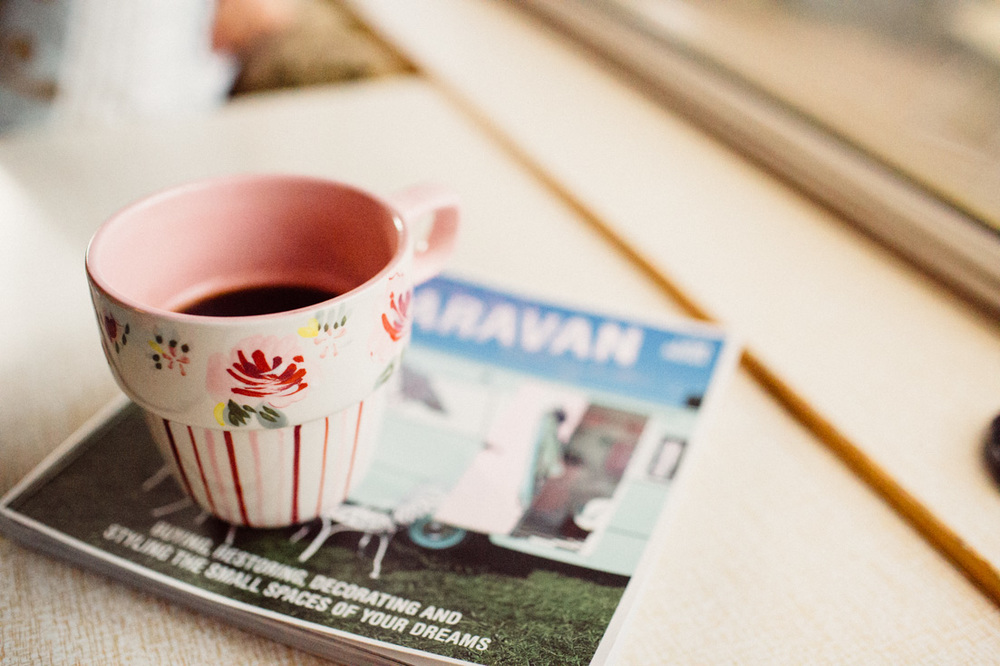 "Morning coffee. ""Glamping"" in a vintage camper in Kerry, Ireland. South of Kenmare you can reinvent your idea camping and let your hipster soul fly. Try ""tiny house"" living and be minimalist. Read more on this mama blog and travel blog www.houseofsmilla.com"