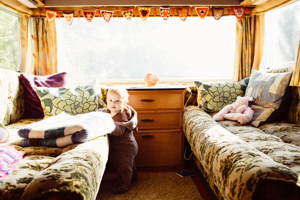 """Glamping"" in a vintage camper in Kerry, Ireland. South of Kenmare you can reinvent your idea camping and let your hipster soul fly. Try ""tiny house"" living and be minimalist. Read more on this mama blog and travel blog www.houseofsmilla.com"