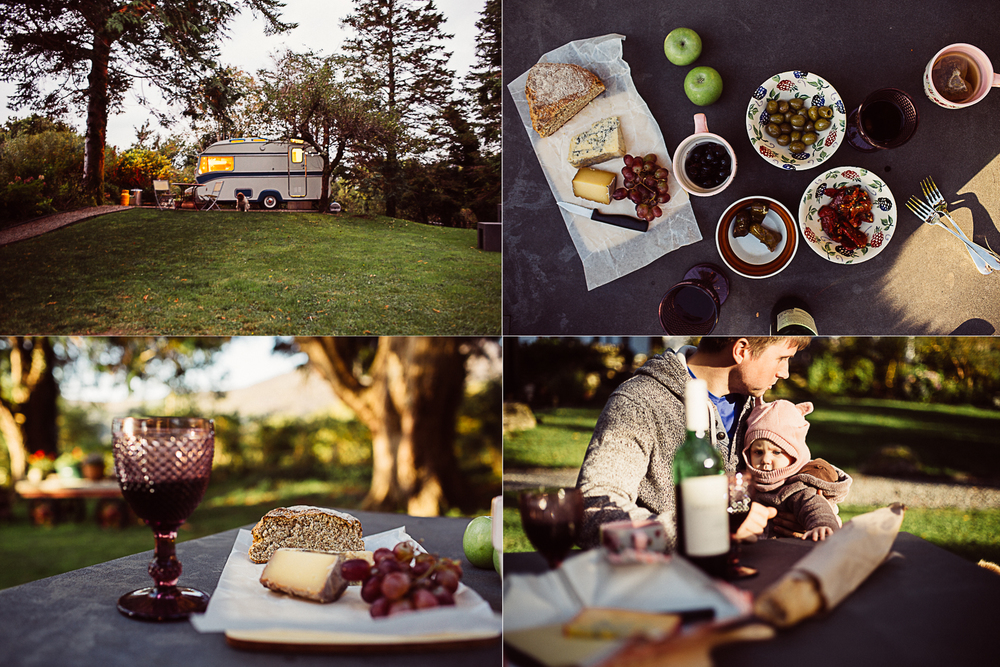 "Romantic family picnic. Cheese and wine! ""Glamping"" in a vintage camper in Kerry, Ireland. South of Kenmare you can reinvent your idea camping and let your hipster soul fly. Try ""tiny house"" living and be minimalist. Read more on this mama blog and travel blog www.houseofsmilla.com"
