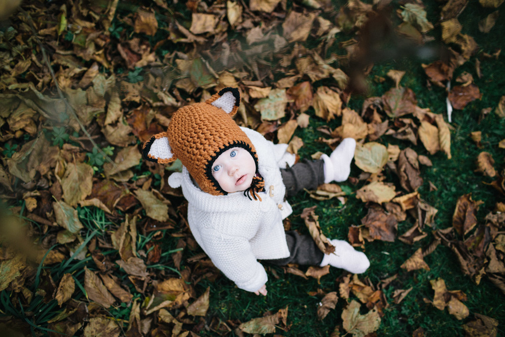 Kaiserslautern family photographer, lifestyle photography and mama blogger. Baby fox hat. Knitted wool hat
