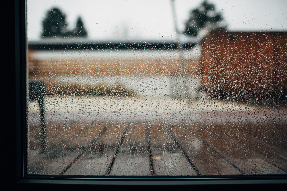 Raindrops on my window. November is a dreary month. www.houseofsmilla.com/blog