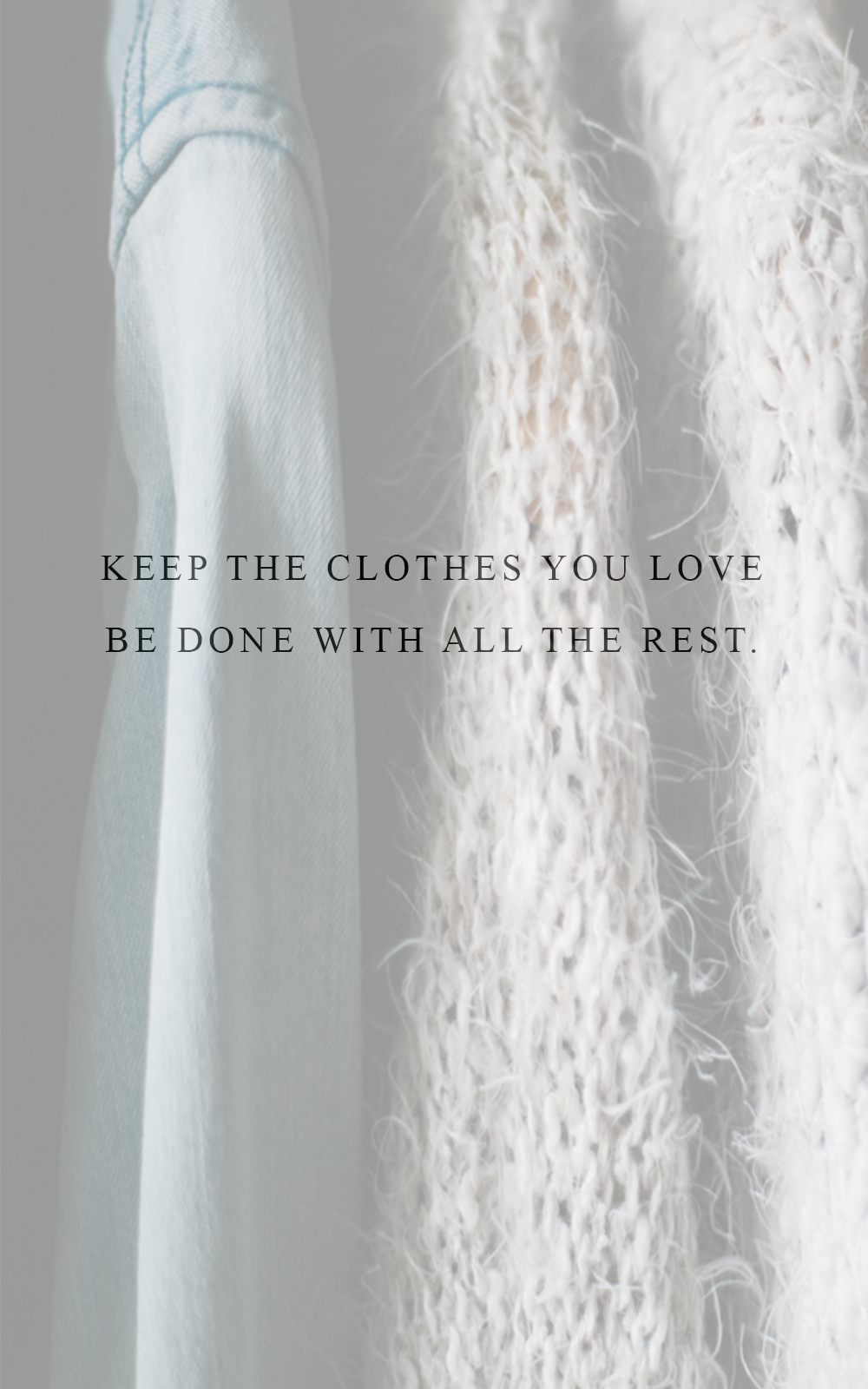 De-clutter your wardrobe in 7 easy steps. A simple closet purge strategy for a minimalist wardrobe. www.houseofsmilla.com/blog/de-clutter-wardrobe-in-7-easy-steps