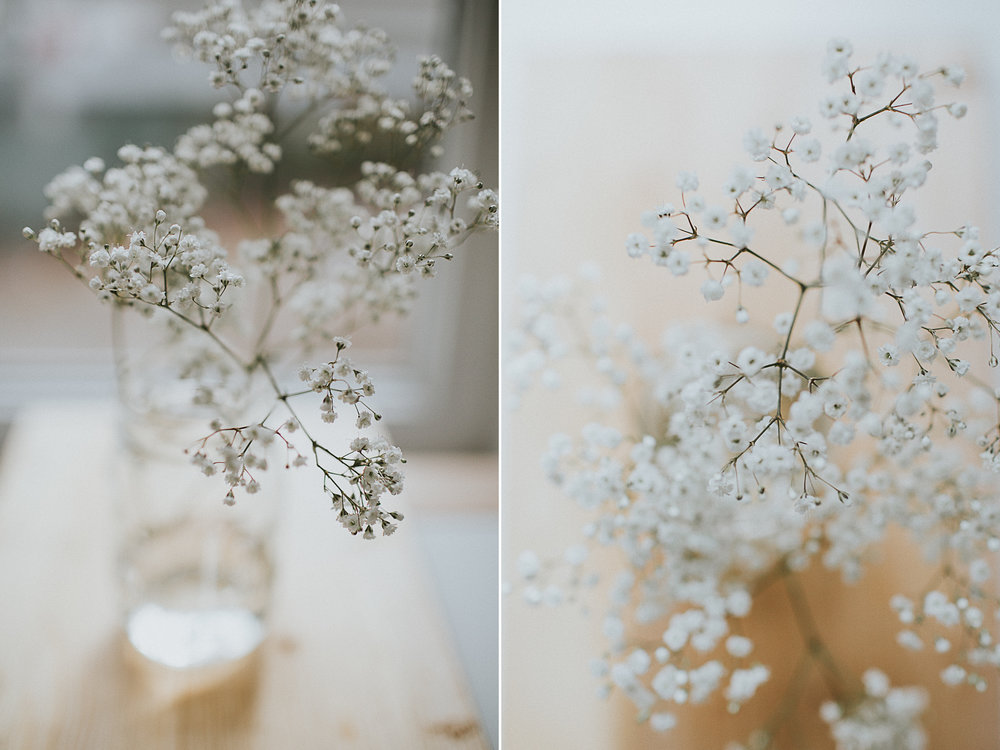 Spring flowers. Baby's breath. How to hygge in the springtime. Photographer & writer Eva-Maria Smith writes a personal lifestyle blog about hygge, motherhood, slow living and sustainability. www.houseofsmilla.com/blog