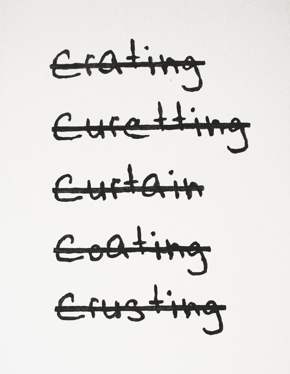 Word Wrong (install), 2013