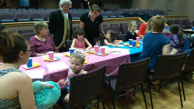 A photo from our first Prince and Princess Tea this past weekend!