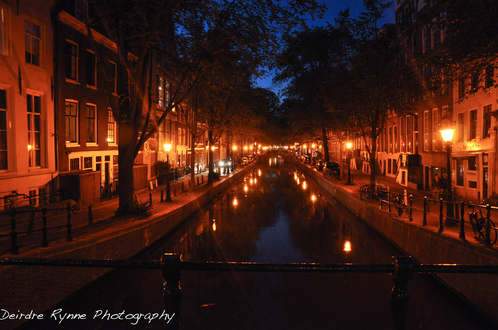 Amsterdam Canal, Netherlands. July 2011