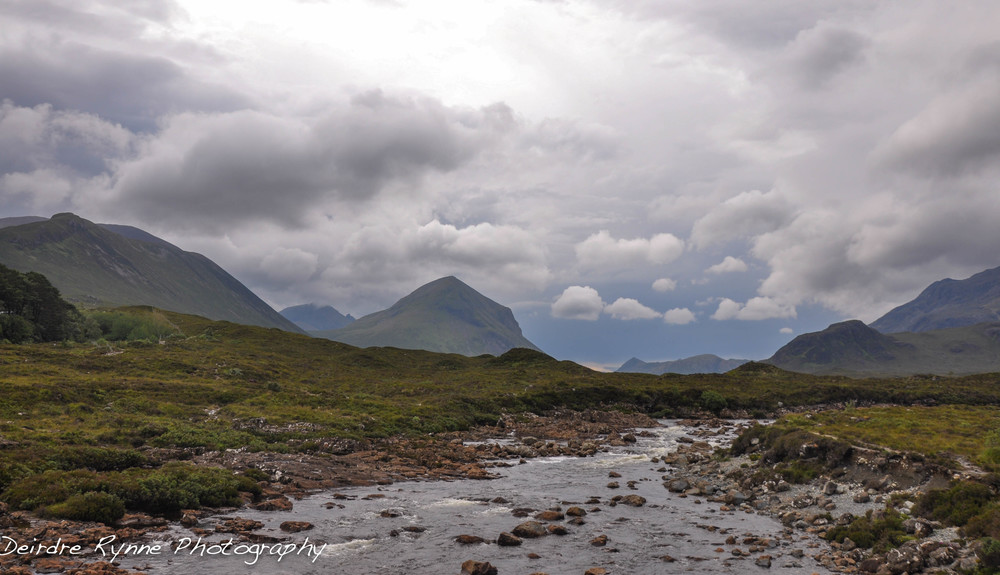 Sligachan River, Isle of Skye, Scotland. July 2011