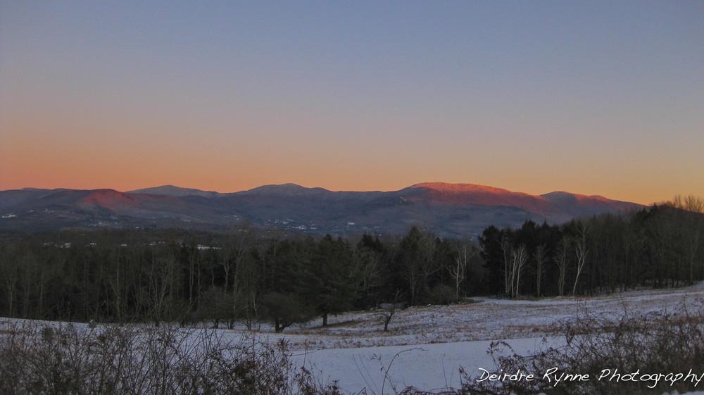 Worchester Range, Stowe, Vermont. December 2011.