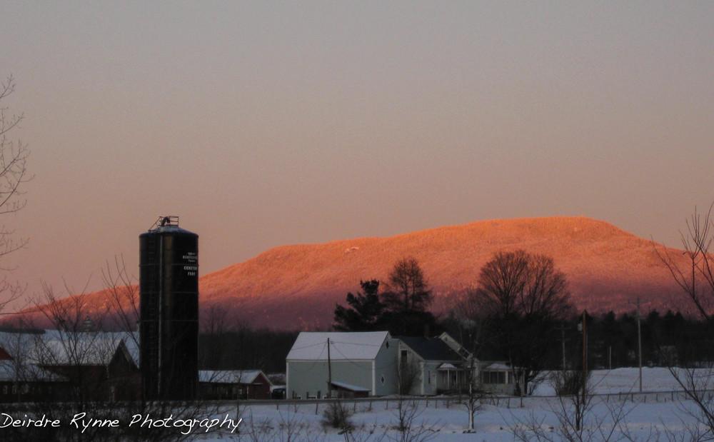 Mt. Elmore, Vermont. February 2012