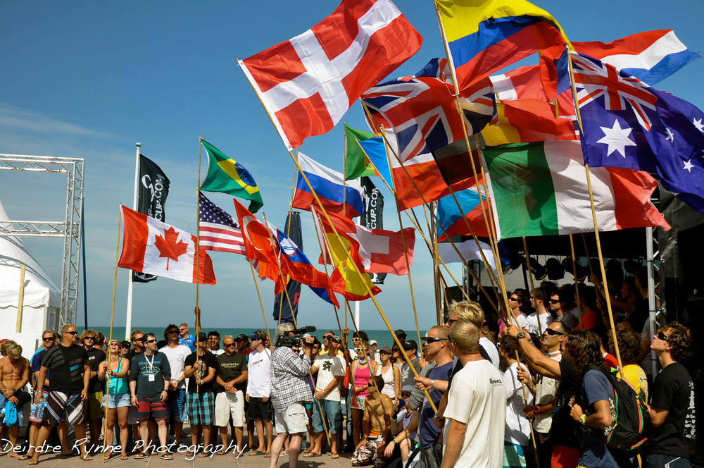 Opening Ceremony Kitesurfing Worlds