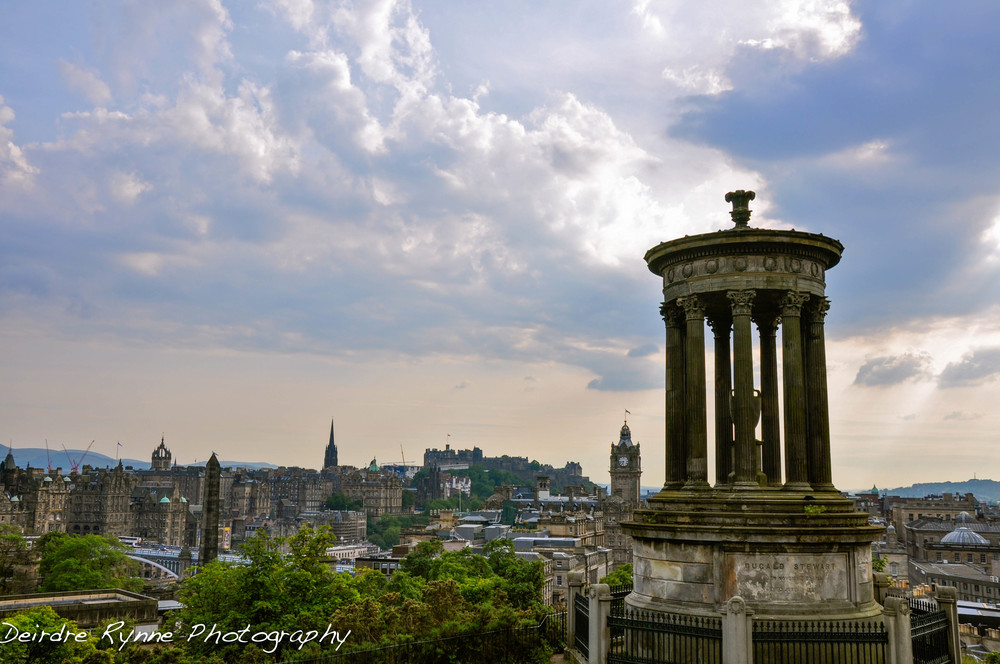 Carlton Hill, Edinburgh, Scotland. July 2011