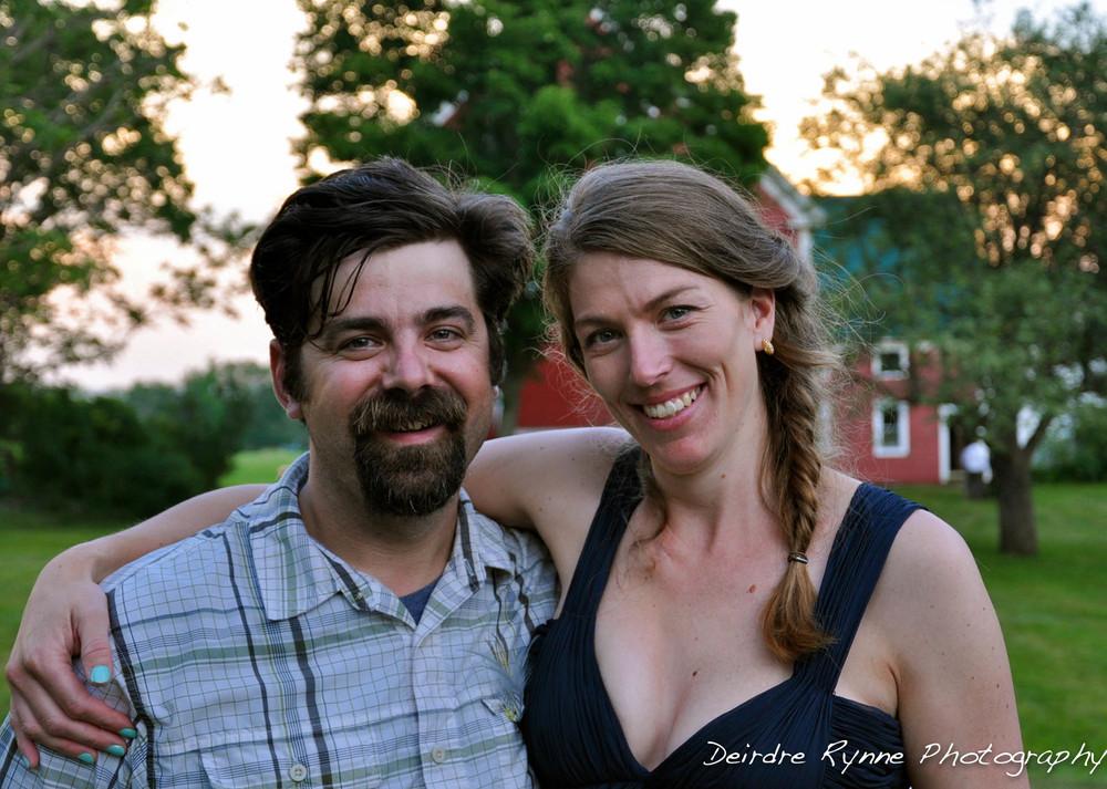 Amos & Amy- Farmington, Maine. June 2012.